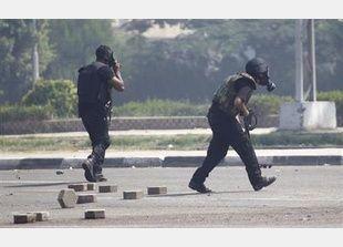 """الشرطة المصرية """"فرضت سيطرتها التامة على ميدان رابعة العدوية"""""""