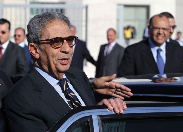 عمرو موسى رئيسا للجنة الدستور المصري