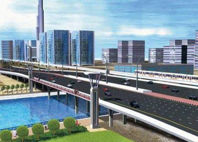 بدء عمليات إنشاء تحويلة لـ شارع الشيخ زايد لبناء قناة دبي المائية
