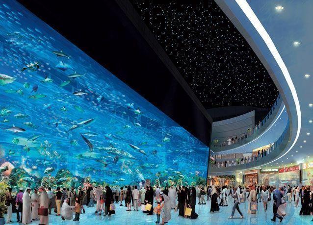 دبي مول يتصدر الوجهات السياحية العالمية باستقباله 80 مليون زائر خلال 2014