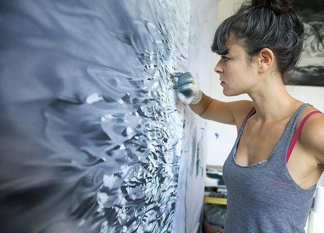 روائع فن الرسم بالأصابع .. بالصور