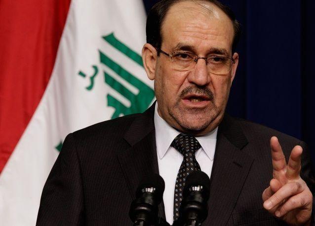 المالكي: أربيل الكردية أصبحت قاعدة لمتشددي الدولة الإسلامية