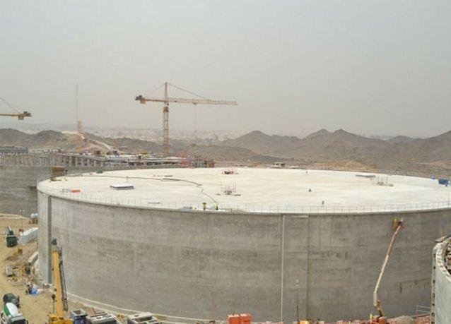 طرح مرحلتين من الخزن الاستراتيجي للمياه في مكة المكرمة بسعة تتجاوز 2.6 مليون متر مكعب