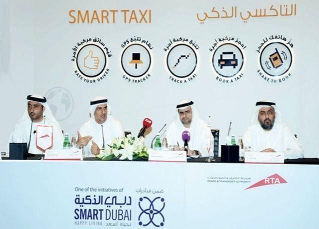 طرق دبي تطلق تطبيق التاكسي الذكي