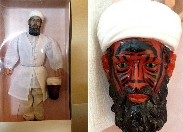 المخابرات الأمريكية صنعت دمية لتخيف الأطفال من أسامة بن لادن