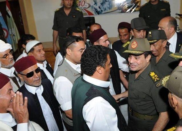مصر تراقب 4000 مسلح على حدودها مع ليبيا