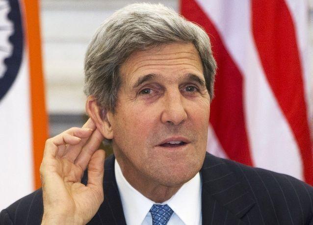 """كيري: حماس تتصرف """"بشكل وقح"""""""