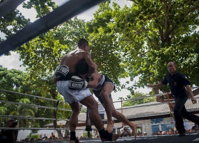 بالصور: سجون تايلاند تقدم أقوى بطولة للفنون القتالية في العالم