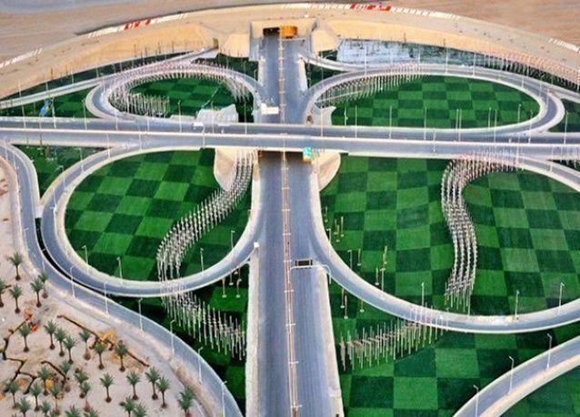 بالصور: مشاريع شبكات الطرق في الخليج العربي