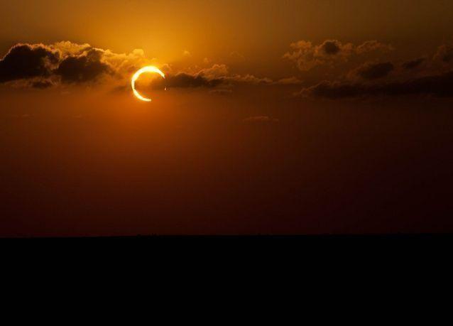 كسوف جزئي للشمس مع بداية السنة الهجرية