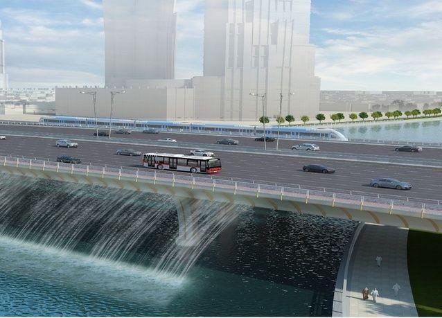 افتتاح التحويلة المرورية الرئيسة على شارع الشيخ زايد باتجاه دبي – أبوظبي