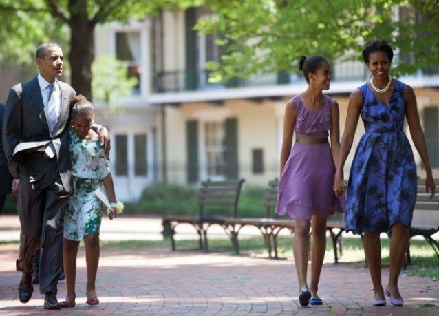 شائعة انتظار أوباما حفيدا غير شرعي لابنته ماليا غير صحيحة