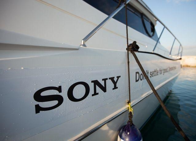 """بالصور: متجر """"سوني"""" تحت الماء في دبي"""