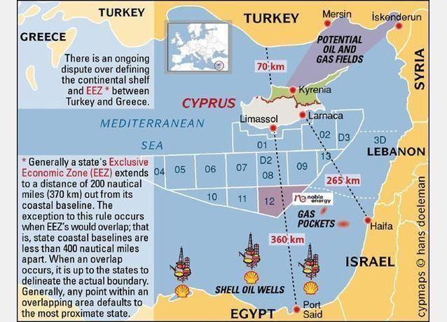 كشف للغاز بمنطقة شرق البحر المتوسط في مصر وتتوقع أن يكون أعمق بئر تم حفره