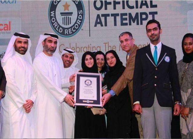 دبي تدخل موسوعة غينيس بإنارة أكثر من 11 ألف مصباح لدعم مرضى السكري