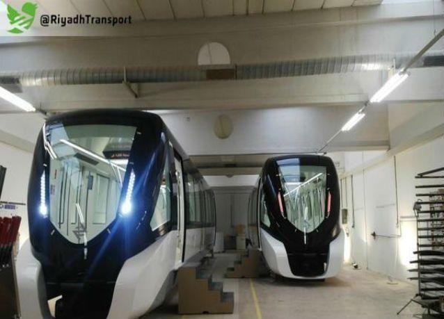 تشغيل 202 عربة دون سائق ضمن المرحلة الأولى من مشروع مترو الرياض بنهاية 2018