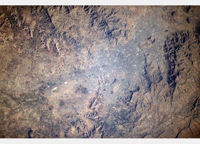 هل يمكنك أن تعرف اسم بلادك العربية التي التقطت لها هذه الصور من الفضاء؟