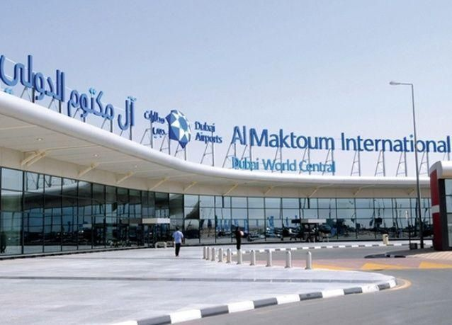 845 ألف مسافر عبر مطار آل مكتوم الدولي في سنته الأولى