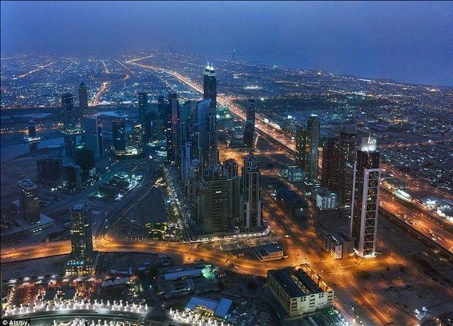 """بالصور: مدينة """"علاء الدين"""" في دبي"""