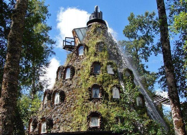 """بالصور: فندق """"مونتانا"""" المذهل وسط جبال الأنديز"""