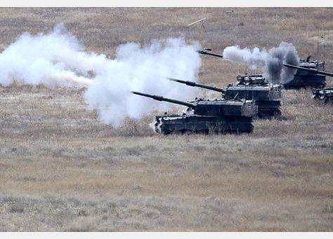 الجيش التركي يقصف مواقع عسكرية سورية
