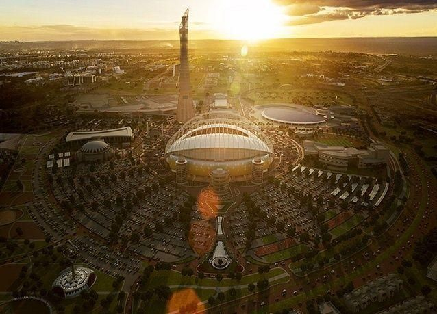 """بالصور: استاد خليفة """"القلب النابض"""" لقطر 2022"""