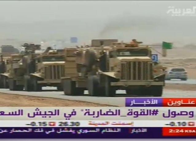 السعودية ترسل دبابات للحدود اليمنية