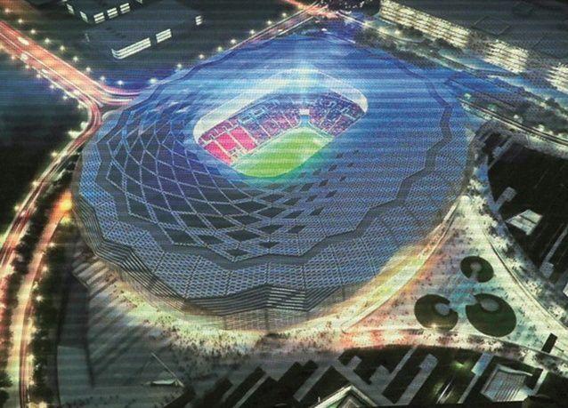 دعوى قضائية ضد الفيفا بسبب معاملة العمال في منشأت كأس العالم لكرة القدم في قطر