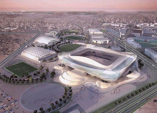 بالصور: التصميم الخامس لملاعب كأس العالم في قطر