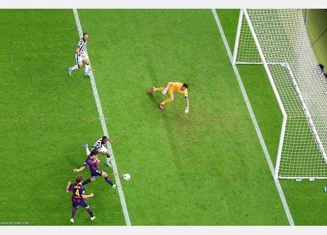 برشلونة الإسباني يفوز بكأس دوري أبطال أوروبا على حساب يوفنتوس