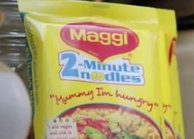 دبي: إيقاف مبيعات ماجي Maggi نودلز المصنعة في الهند بسبب مادة سامة