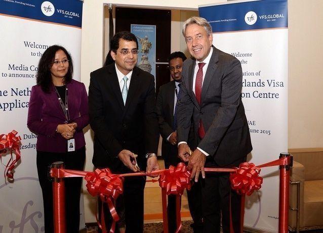 هولندا تنضم إلى مركز تطبيقات تأشيرة الشنجن في دبي