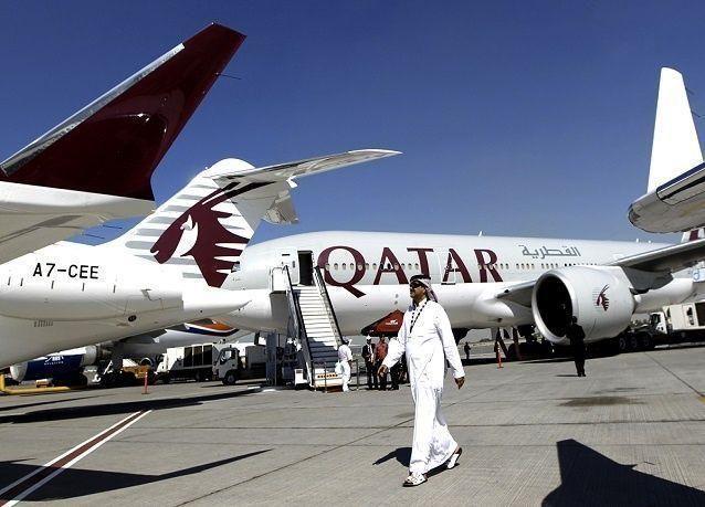"""""""القطرية"""" أفضل خطوط طيران بالعالم في 2015"""
