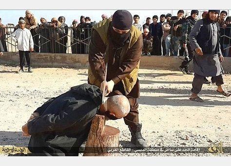 تنظيم  داعش يذبح امرأتين للمرة الأولى في سوريا