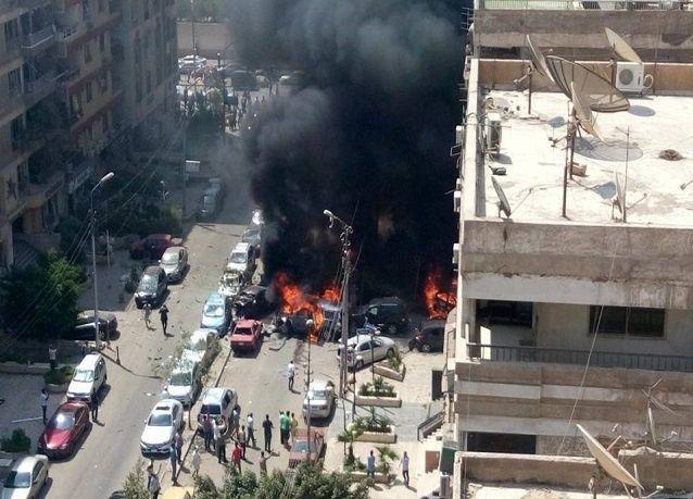 """بالفيديو: إصابة النائب العام المصري من """"مفخخة"""" بالقاهرة"""