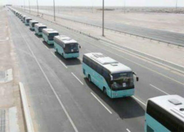 السعودية تنشئ منصة لتتبع حركة حافلات شركات نقل الحجاج