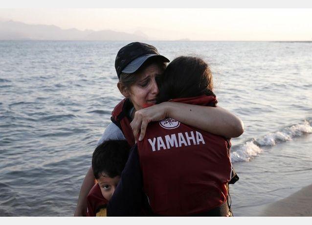 لاجئ سوري سبح 6 ساعات من تركيا إلى اليونان بعد نفاد أمواله