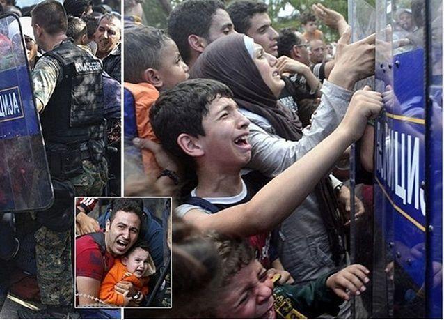 اللاجئون السوريون في أوضاع يرثى لها مع إغلاق أبواب أوروبا في وجوههم