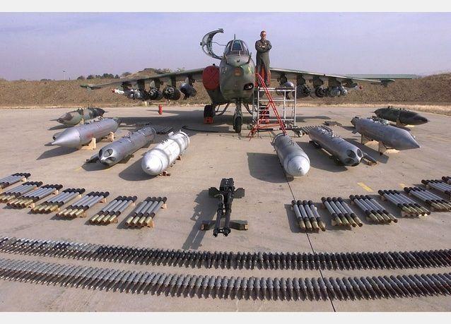سلاح الجو الروسي يستخدم صواريخ موجهة بالليزر في سوريا