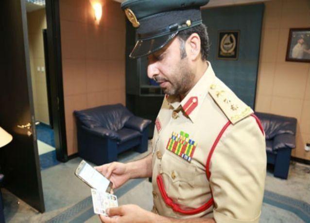 دبي تطلق خدمة بحث الحالة المرورية للسائقين عبر الهواتف الذكية