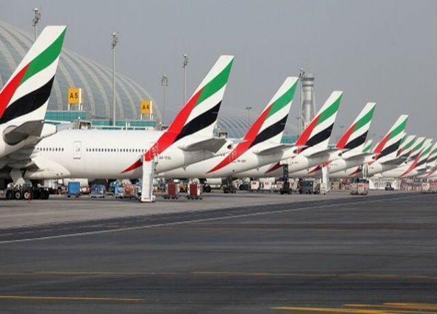 """""""مطارات دبي"""" تلغي إحدى وعشرين رحلة بسبب الضباب"""