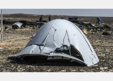 مصادر أمريكية: مسؤولون روس يرون أن قنبلة أسقطت الطائرة في سيناء