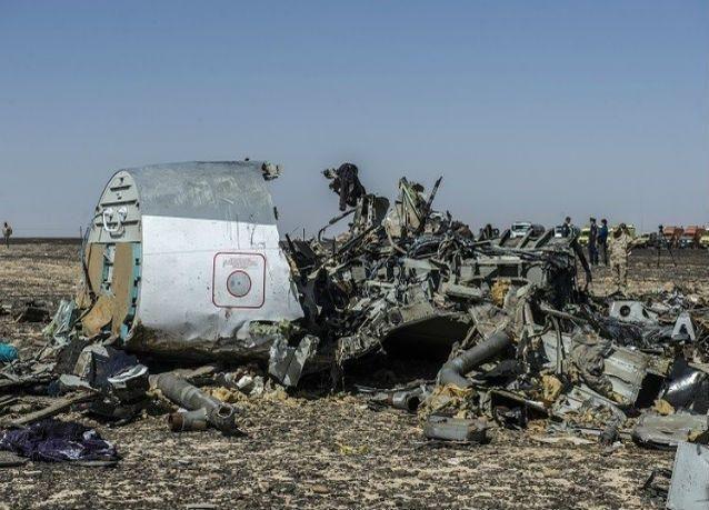 حرب إعلامية روسية أمريكية بريطانية بخصوص الطائرة المنكوبة في مصر