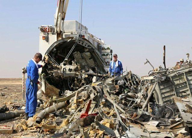 روسيا تقول ان قنبلة أسقطت طائرة الركاب الروسية في مصر