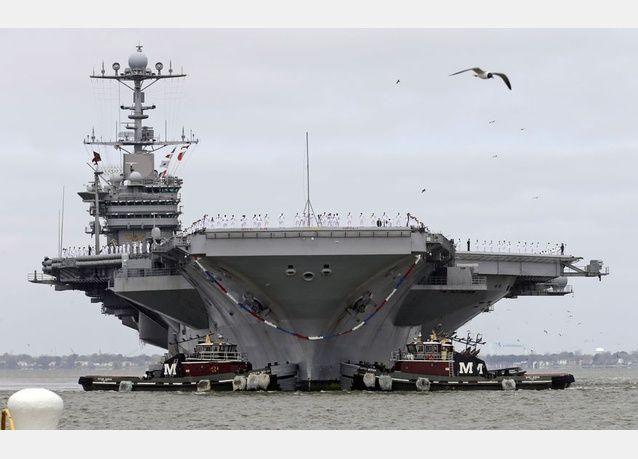 ايران تحتجز 10 بحارة أمريكيين على متن زورقين للبحرية الأمريكية