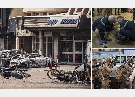 مقتل 4 من المهاجمين من القاعدة بينهم إمرأتان في عاصمة بوركينا فاسو