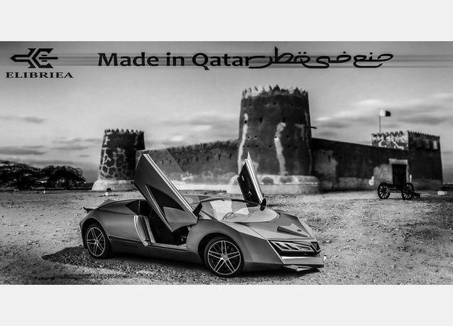 """هل ينجح التصميم الغريب لـ """"أول سيارة قطرية  ؟"""