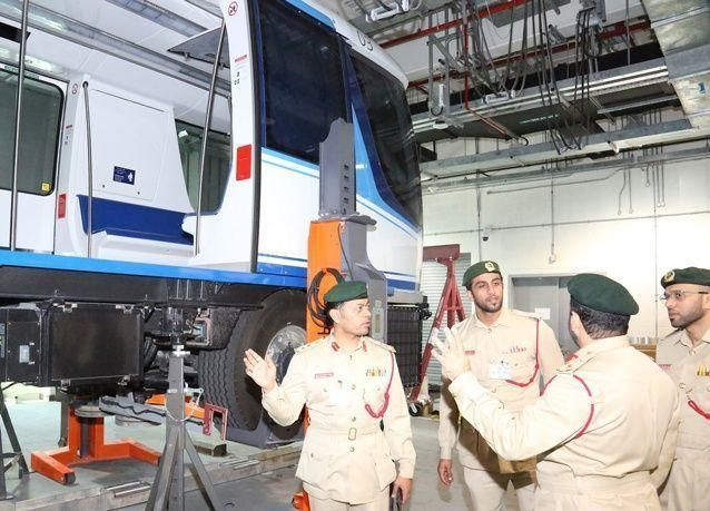 دبي:أمن المطارات تستعد لافتتاح مبنى المسافرين الجديد كونكورس دي