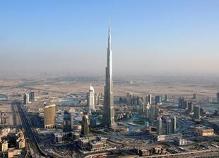 مليونا زائر لقمة برج خليفة في دبي