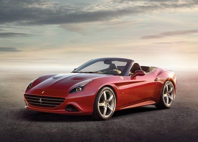 جديد السيارات: سيارة كاليفورنيا تي من فيراري